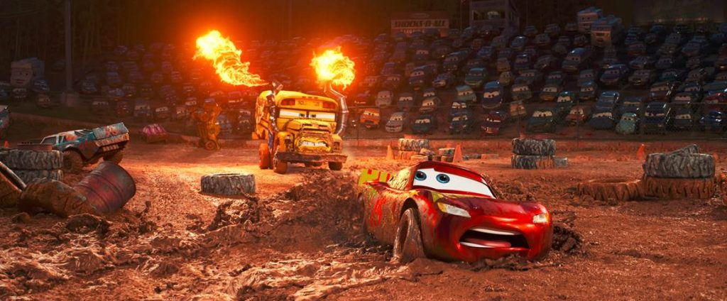 In Cars 3, Blindsided by a new generation of blazing-fast racers,  Lightning McQueen is suddenly pushed out of the sport he loves.