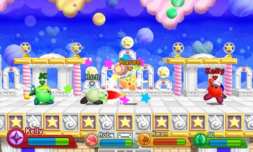 New Nintendo Game of Kirby: Triple Deluxe
