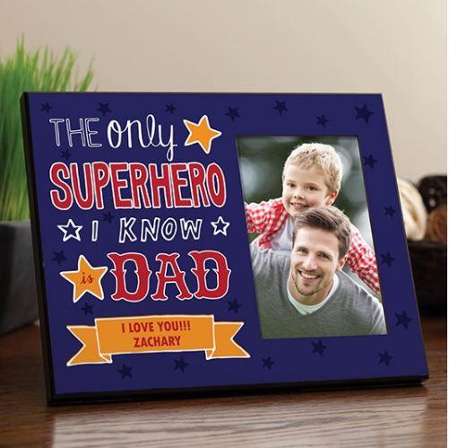 Superhero Dad Frame