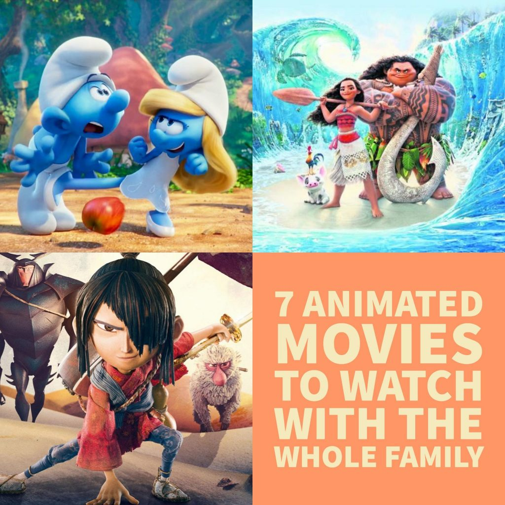 7 Animated Movies to Watch with the Whole Family