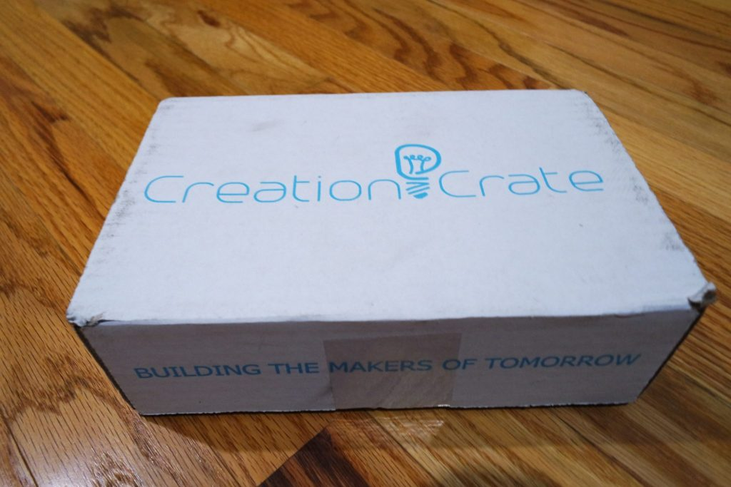 Creation Crate, a subscription box service aimed at ages 12 and up, that helps kids learn to build real-world electronics.