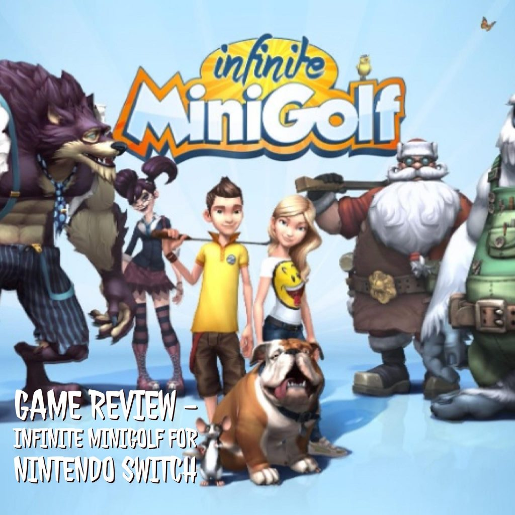 Infinite Minigolf is now live on the Nintendo Switch! There are currently 2,500+ courses now available for play, and growing minute by minute.