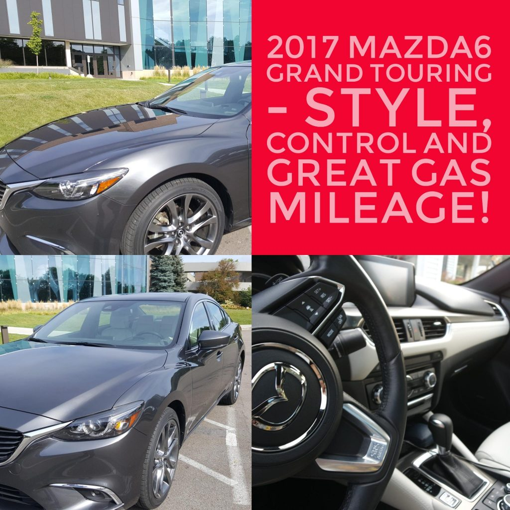 This is my review of the 2017 Mazda6 Grand Touring. Very impressed by the style, control, space and gas mileage in this great car.