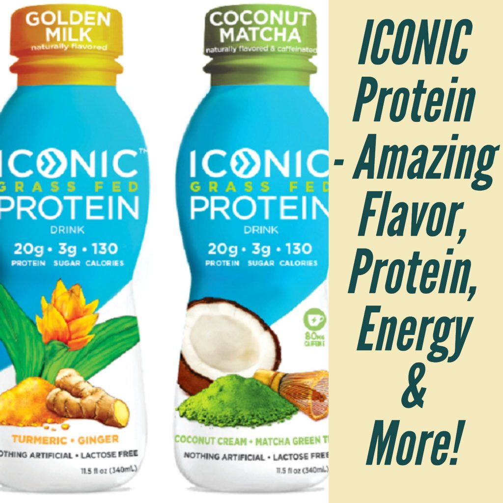 ICONIC Protein - Amazing Flavor, Protein, Energy & More!