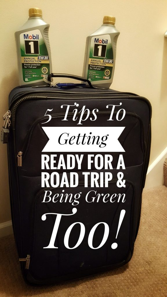 5 Tips To Getting Ready For A Road Trip & Being Green Too!