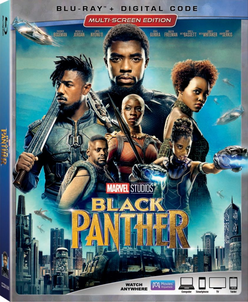 Marvel Studios' Black Panther Arrives To Homes Digitally on May 8 and Blu-ray on May 15