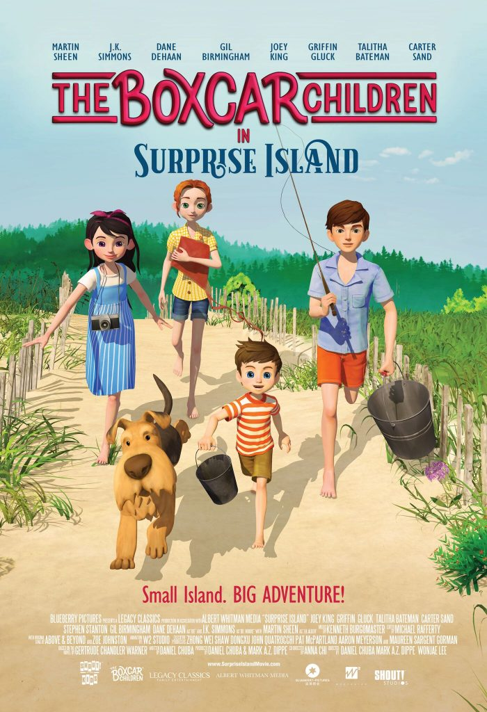 The beloved Boxcar Children are headed to the silver screen! The new animated feature film The Boxcar Children - Surprise Island hits theaters nationwide for a special one-day event on May 8.