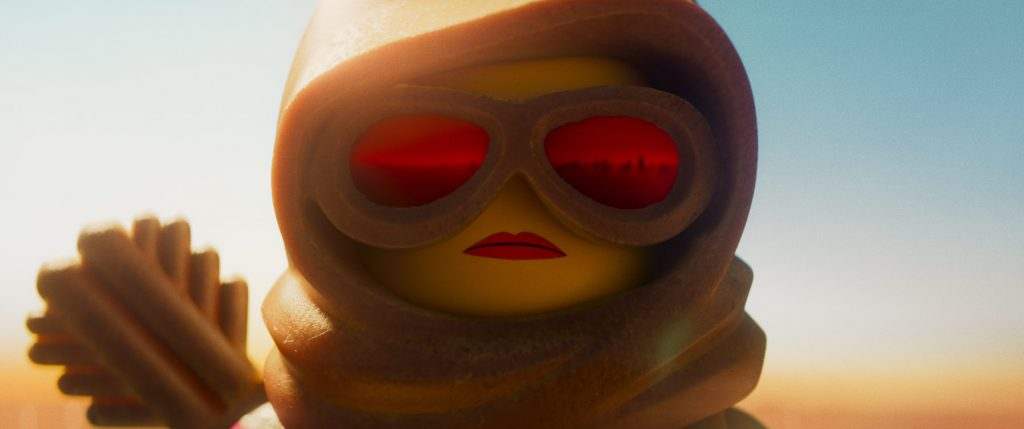"""Returning character Lucy (ELIZABETH BANKS) in a scenefrom the animated adventure sequel """"The LEGO®Movie 2: The Second Part,"""" in theaters February 8, 2019. The film also stars Chris Pratt,Will Arnett, Nick Offerman, Alison Brie, Tiffany Haddish, StephanieBeatriz, and Arturo Castro. It isdirected by Mike Mitchell and produced by Dan Lin, Phil Lord, Christopher Miller and Roy Lee."""