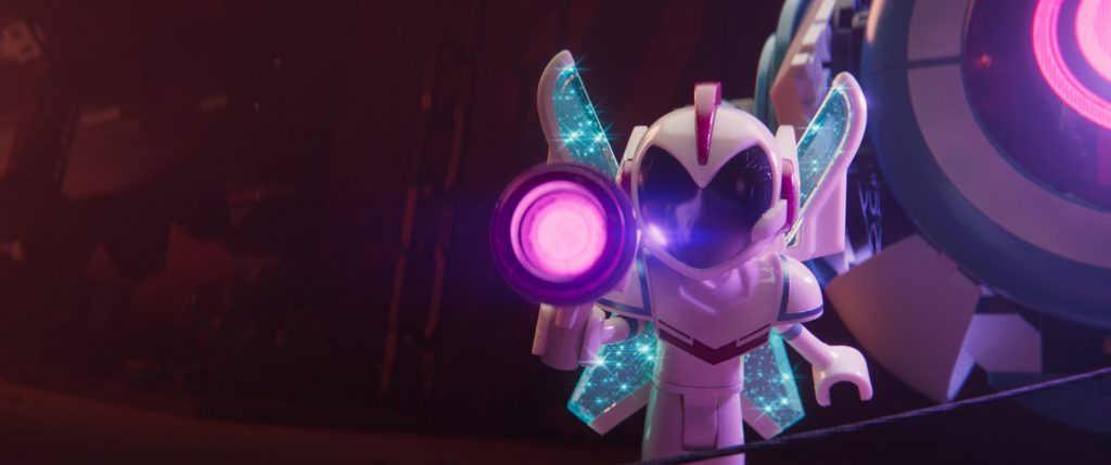 """New character Sweet Mayhem (STEPHANIE BEATRIZ) in a scene from the animated adventure sequel """"The LEGO® Movie 2: The Second Part,"""" in theaters February 8, 2019. The film also stars Chris Pratt, Elizabeth Banks, Will Arnett, Nick Offerman, Alison Brie, Tiffany Haddish, and Arturo Castro. It is directed by Mike Mitchell and produced by Dan Lin, Phil Lord, Christopher Miller and Roy Lee. Courtesy of Warner Bros. Pictures."""