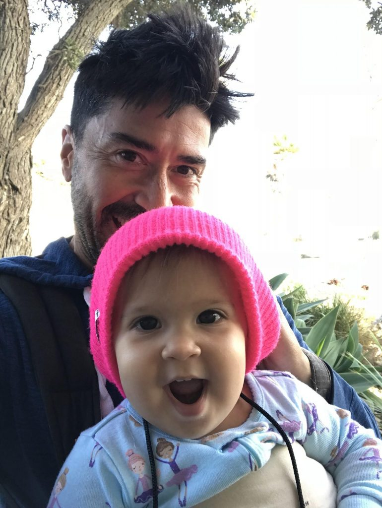 Patrick Pedraza of the hardcore band called Dad Brains is the 865th dad to be spotlighted in the Dads in the Limelight Series. Come and learn from this great dad!