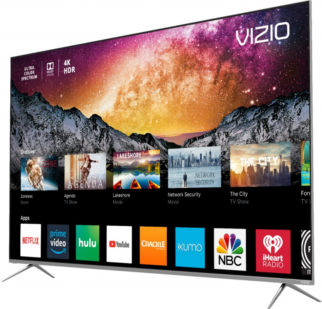 "VIZIO 55"" 4K HDR Smart TV"