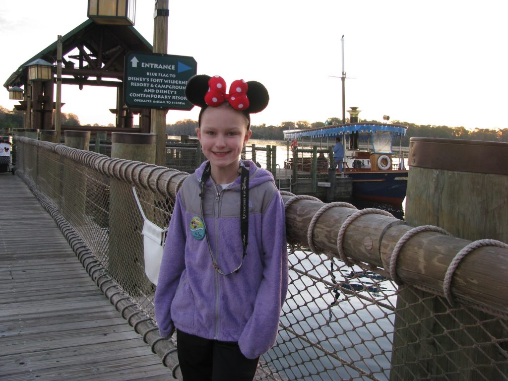 Walt Disney World boat transportation