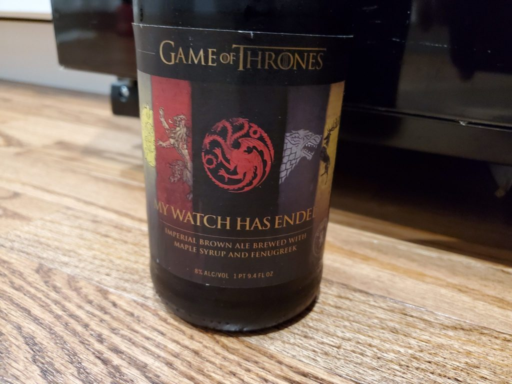 My Watch Has Ended by Ommegang Brewing