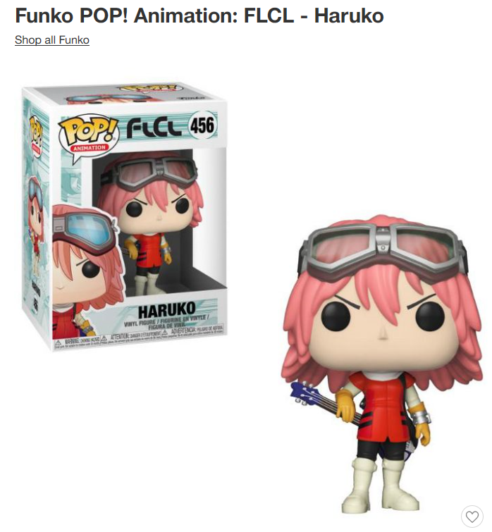 FLCL: Progressive and Alternative - Funko POP! /Blu-ray Combo Pack Offer