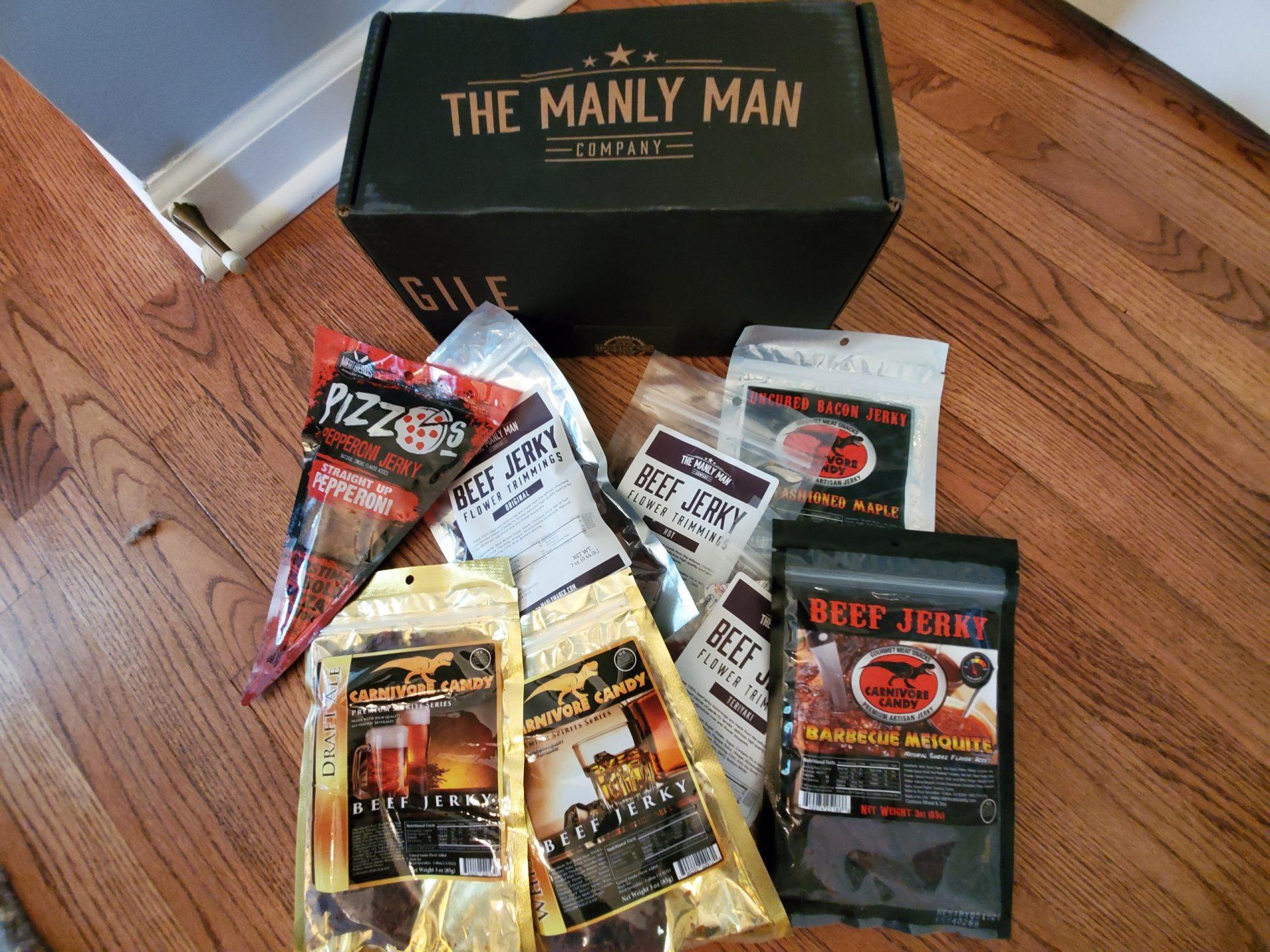 manly Man Jerky